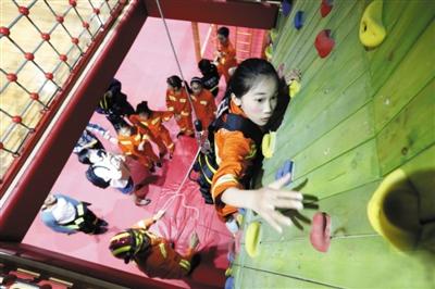 杭州首个青少年消防应急体验馆开馆