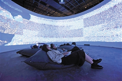 数字视觉艺术大展亮相杭州